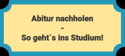 Abitur nachholen